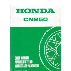 HONDA CN 250 SPAZIO (Manuel atelier de base)