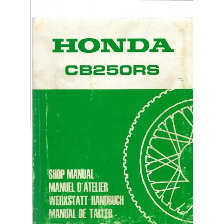 HONDA CB 250 RS (Manuel de base)