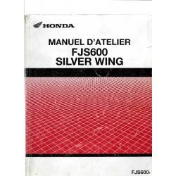 HONDA FJS 600 SILVER WING de 2002 (Manuel de base)