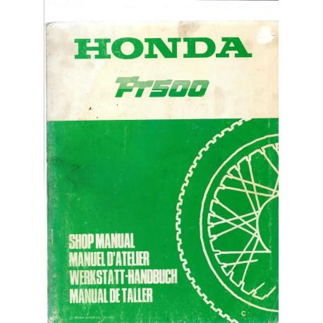 HONDA FT 500 (Manuel de base)