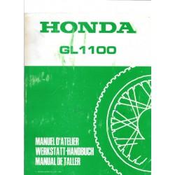 HONDA GL 1100 (Supplément au manuel GL 1000)