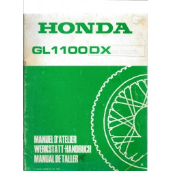 HONDA GL 1100 (Additif avril 1980 au GL 1100)
