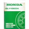 HONDA GL 1100 (Additif avril 1980 au GL 1100)