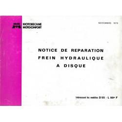 Motobécane frein à disque hydraulique