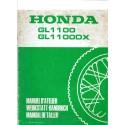 HONDA GL 1100 / DX (manuel atelier additif 02 / 1981)