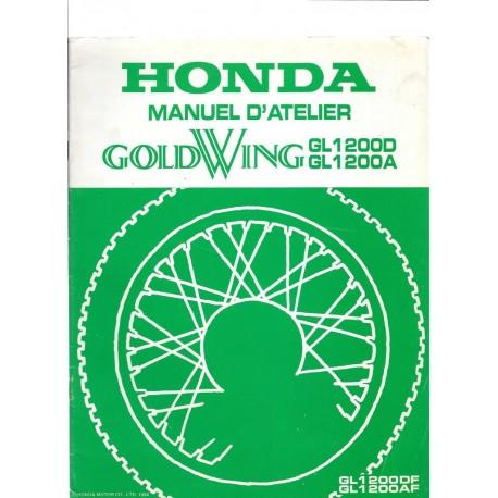 HONDA GL 1200 DF / DA (Additif novembre 1984)