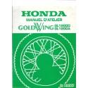 HONDA GL 1200 DF / DA (manuel atelier additif 11 / 1984))