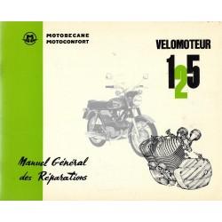 Motobécane manuel atelier 125 S et L