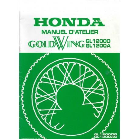 HONDA GL 1200 DG / AG (Additif octobre1985)