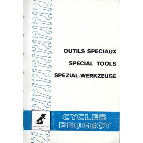 PEUGEOT outils spéciaux de 09 / 1979