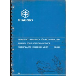 PIAGGIO X9 - 250 cc 4 temps (manuel atelier 06 / 2000)