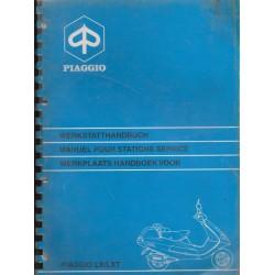 PIAGGIO LX / LXT 125cc / 180 cc ( manuel atelier)