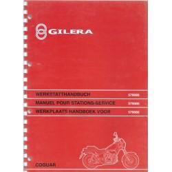 GILERA COGUAR 125 cc 4 temps( manuel atelier 05 / 1999)