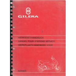 GILERA RUNNER 50cc ( manuel atelier 02 / 1997)
