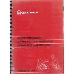 GILERA RUNNER FX / FX-R 50cc ( manuel atelier 11 / 1997)