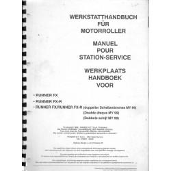 GILERA RUNNER FX / FX-R 125 / 180cc (M.A. 06 / 1999)