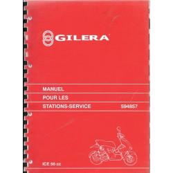 GILERA ICE 50 cc (manuel atelier 06 / 2001)