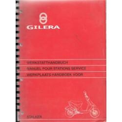GILERA STALKER 50 cc (manuel atelier 02 / 1997)