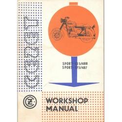 CZ 125 / 175 (manuel atelier 1982)