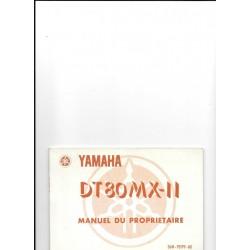 YAMAHA DT80 MX-II (type 36M 1984)