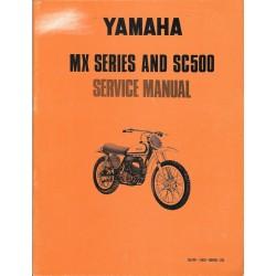 YAMAHA YZ 500 MX 1973