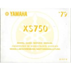 YAMAHA XS 750 de 1979