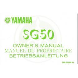YAMAHA SG 50 (type 34N 1984)