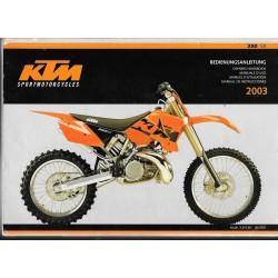 KTM 250 SX 2003