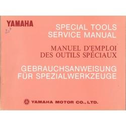 Manuel emploi outils spéciaux YAMAHA (10 / 1973)