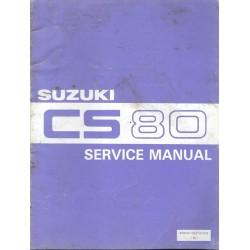Manuel atelier SUZUKI CS 80 mai 1983