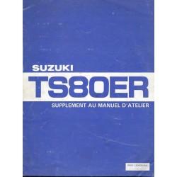 Manuel atelier SUZUKI TS 80 ERZ 1982