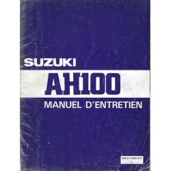 Manuel atelier SUZUKI AH 100 1994