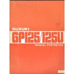 Manuel atelier SUZUKI GP 125 U