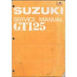 Manuel atelier SUZUKI GT 125 en anglais