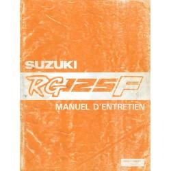 Manuel atelier SUZUKI RG 125 F de 1992