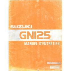 Manuel atelier SUZUK GN 125