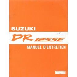 SUZUKI DR 125 SE (Manuel atelier 09 / 1993)