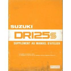 Manuel atelier SUZUKI DR 125 SZ