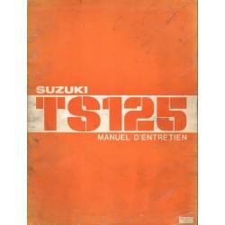 Manuel atelier SUZUKI TS 125