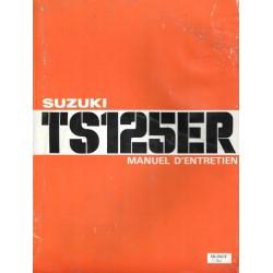 Manuel atelier SUZUKI TS 125 ER