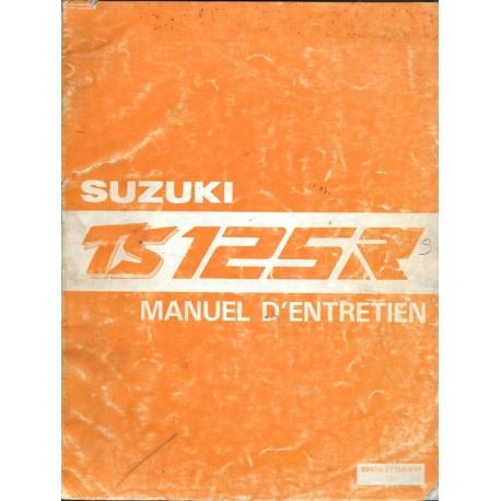 Manuel atelier SUZUKI TS 125 R