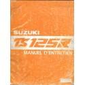 Manuel atelier SUZUKI TS 125 R (05 / 1989)