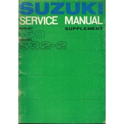 SUZUKI 150 S 32-2 (manuel atelier additif)