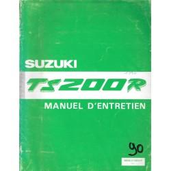 Manuel atelier SUZUKI TS 200 R