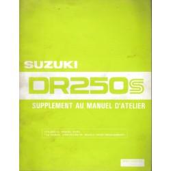 Manuel atelier SUZUKI DR 250 SZ (07/1982)