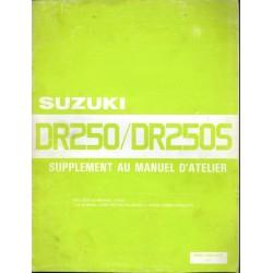 Manuel atelier SUZUKI DR 250 / DR 250 S (07/1985)