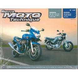 Yamaha YBR 125 - XT 125 R et X (2005) / Suzuki GSF 650 (2005 - 06) RMT 139