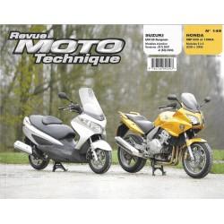 Honda CBF 1000 / A (2006 / 08) - Suzuki UH 125 (2007 /08) RMT 149