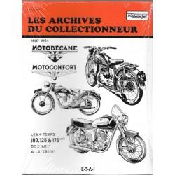 MOTOBECANE / MOTOCONFORT 1937 / 1964