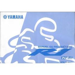 YAMAHA YZF-R1 type 5PW modèle 2002
